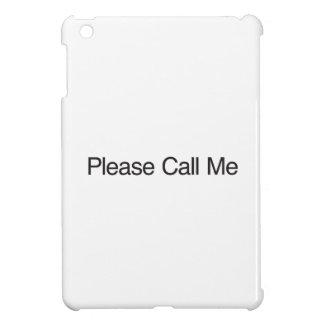 Rufen Sie mich bitte an iPad Mini Hülle