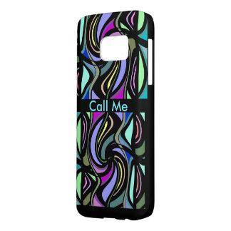 RUFEN Sie MICH iPhone S7 Fall-Mehrfarbig auf
