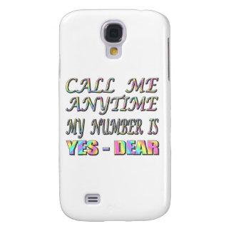 Rufen Sie mich ja lieb an Galaxy S4 Hülle