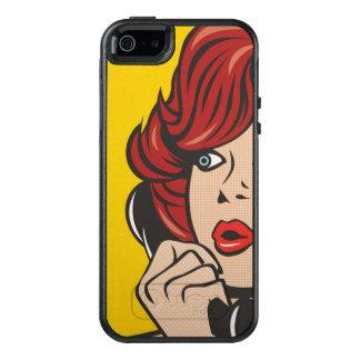 Rufen Sie mich… Pop-Kunst-Druck an OtterBox iPhone 5/5s/SE Hülle