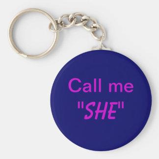 Rufen Sie mich sie an Schlüsselanhänger