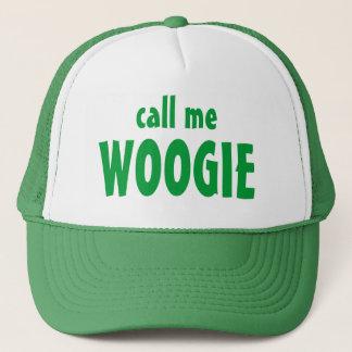 rufen Sie mich, WOOGIE an Truckerkappe