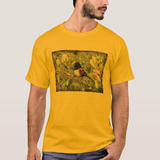 Rufous mit Seiten versehener Towhee-Spatz T-Shirt