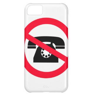 Rufzeichen keine Anruf-alte Mode iPhone 5C Hülle