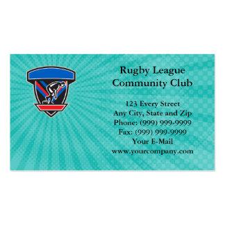 Rugby-Liga-Gemeinschaftsverein-Visitenkarte Visitenkarten