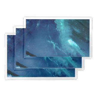 Ruhe-Bucht Acryl Tablett
