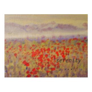 """""""Ruhe"""" - eine Kunstdruckpostkarte Postkarte"""