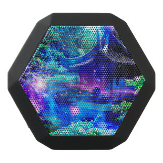 Ruhe-Garten Schwarze Bluetooth Lautsprecher