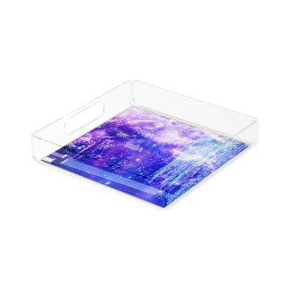 Ruhe-Garten-Träume Acryl Tablett