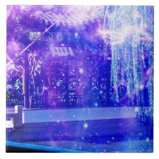 Ruhe-Garten-Träume Fliese