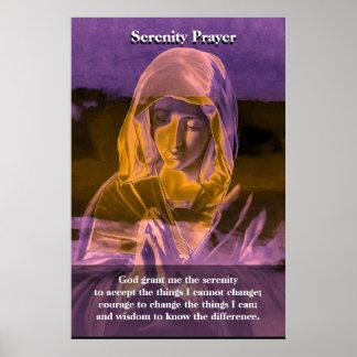 Ruhe-Gebet Poster
