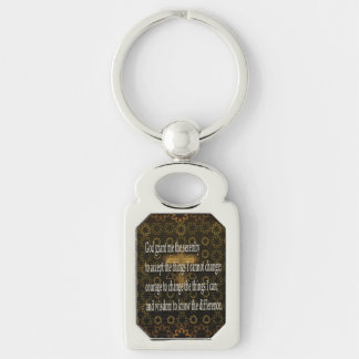 Ruhe-Gebet Schlüsselanhänger
