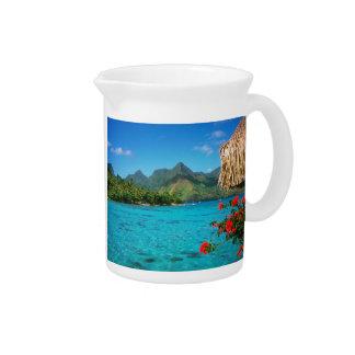 Ruhe-Gebet u. Bora Bora 2-SIDED Getränke Pitcher