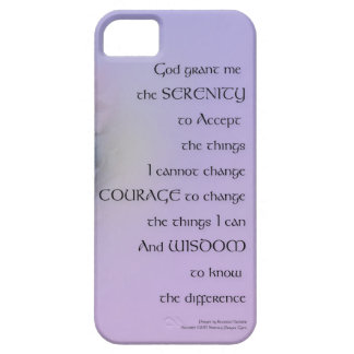 Ruhe-Gebethydrangeas-Harmonie-Lavendel iPhone 5 Etui