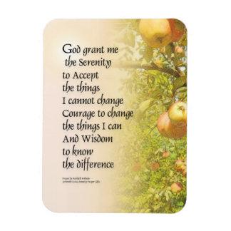 Ruhe-Gebets-Apple-Niederlassungen Magnet