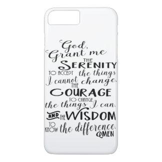Ruhe-Gebets-Glauben-Telefon-Kasten iPhone 8 Plus/7 Plus Hülle