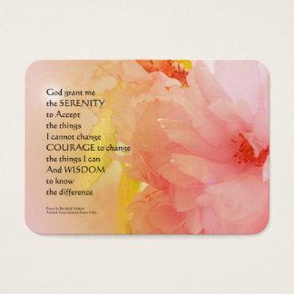 Ruhe-Gebets-Kirschblüten-Glühen Visitenkarte