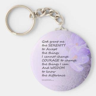 Ruhe-Gebets-Krokus Schlüsselanhänger