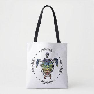 Ruhe-Schildkröte Chakras Tasche