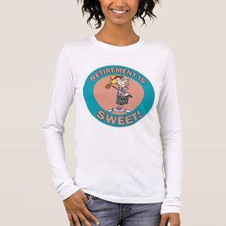 Ruhestand ist Bonbon (2) Langarm T-Shirt
