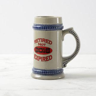 Ruhestands-Jahr-Geschenke 2016 Bierkrug