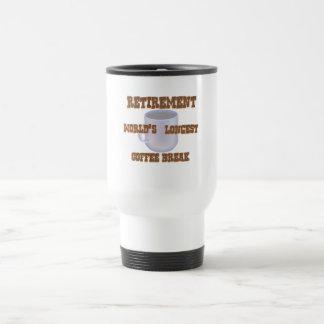 Ruhestands-Kaffee Reisebecher