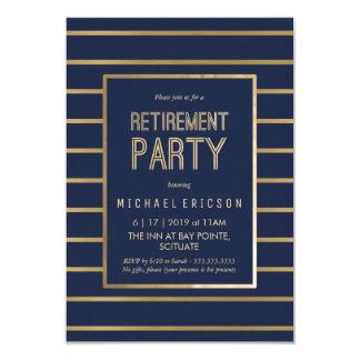 Ruhestands-Party Einladung - fertigen Sie