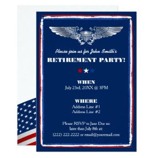 Ruhestands-Party Einladungen für Marineluftwaffe