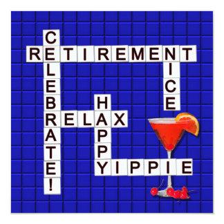 Ruhestands-Party Einladungen - Puzzlespiel
