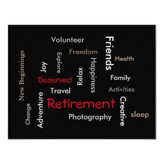 Ruhestands-Party: Fertigen Sie Einladung besonders