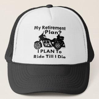 Ruhestands-Plan-Fahrt, bis ich Trike die Truckerkappe
