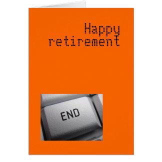 Ruhestandskarte Karte
