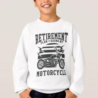 Ruhestandsplan, der mein Motorrad reitet Sweatshirt
