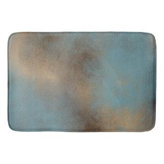 Ruhige Aquamarin-Blaue, Gold-und Browns| Bad-Matte Badematte