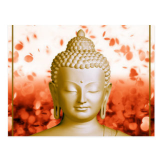 Ruhige Buddha-Postkarte Postkarte