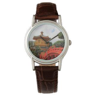 Ruhige Landschafts-Uhr Uhr