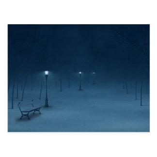 Ruhige Nacht Postkarte