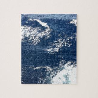 Ruhige Ozean-Wellen Puzzle