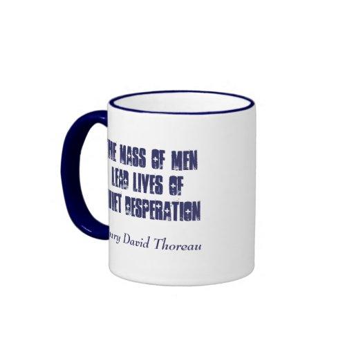 Ruhige Verzweiflung… Kaffee Haferl