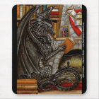 Ruhiger Abends-Lesedrache Mousepad