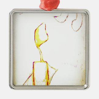 Ruhiger Exodus Silbernes Ornament