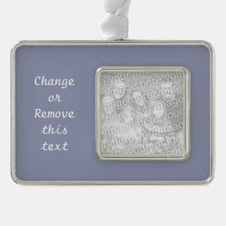 Ruhiger grauer Normallack fertigen es besonders an Rahmen-Ornament Silber