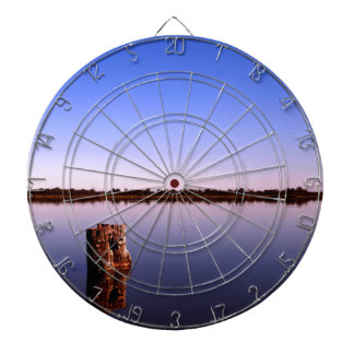 Ruhiger See Dartscheibe