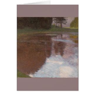 Ruhiger Teich Gustav Klimt Karte
