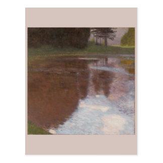 Ruhiger Teich Gustav Klimt Postkarte