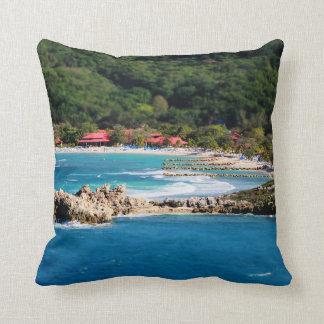 Ruhiges Insel-Paradies Labadee Haiti Kissen