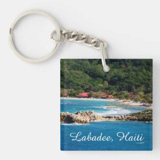 Ruhiges Insel-Paradies Labadee Haiti Schlüsselanhänger