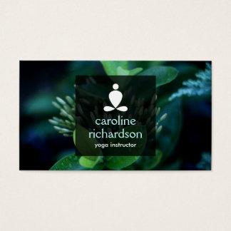 Ruhiges Yoga, Meditation, Zen-Visitenkarte Visitenkarten