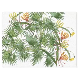 Ruhm-Lilien-Blumen-Palmblatt-Seidenpapier Seidenpapier