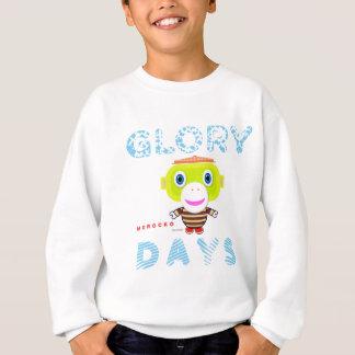 Ruhm Tag-Niedlicher Affe-Morocko Sweatshirt